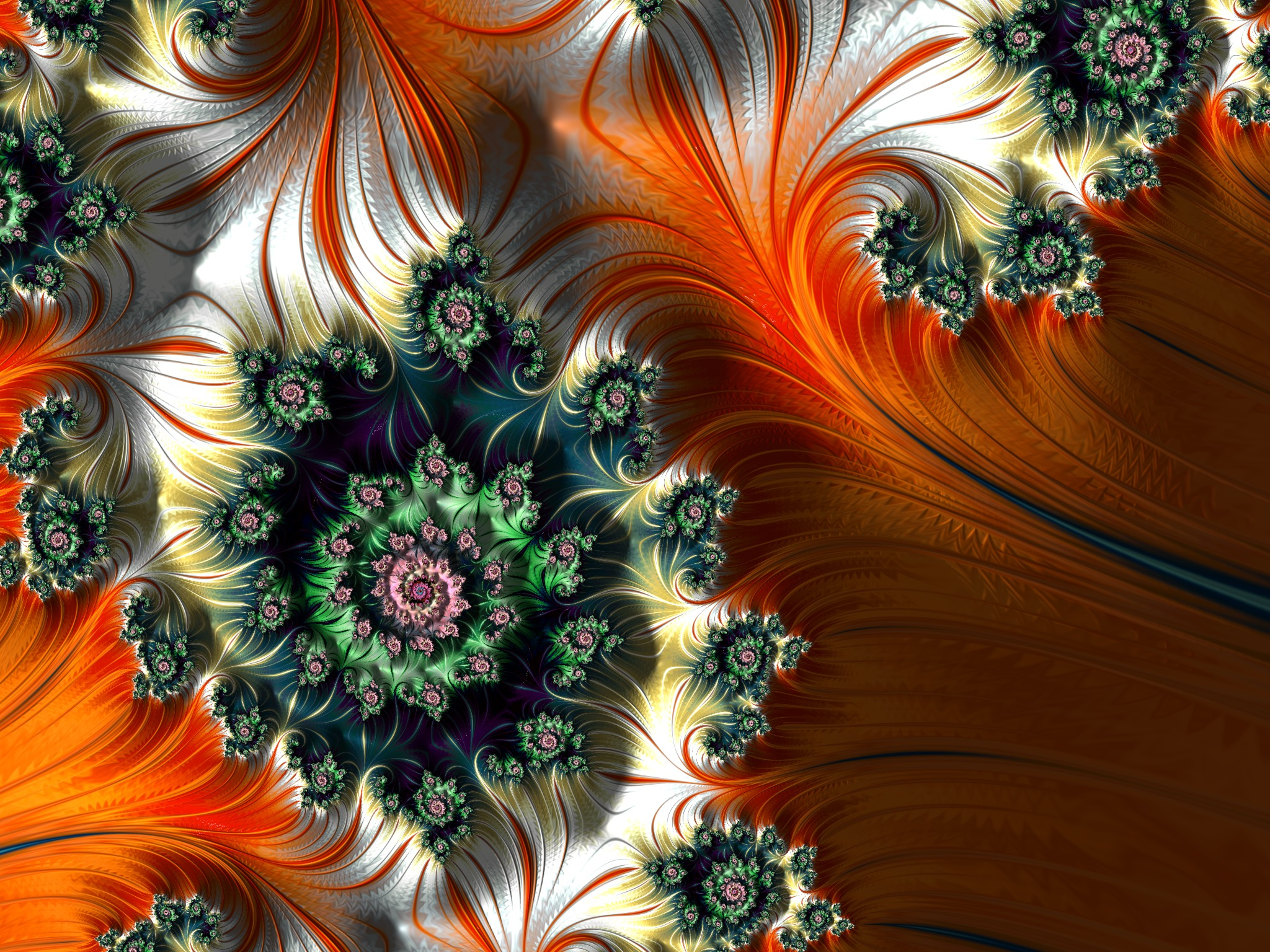 Der Orangenhain - 2048px x 1536px